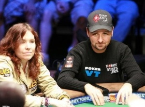 Annie Dunk and Daniel Negreanu